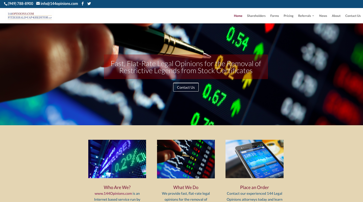 FitzGerald Yap Kreditor LLP Launches New Website For Restrictive - Attorneys corporation service stock certificate template