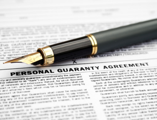 CONSIDERATIONS AS TO COMMERCIAL GUARANTY IN CALIFORNIA