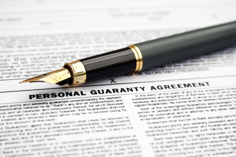 Commercial Guaranty in California