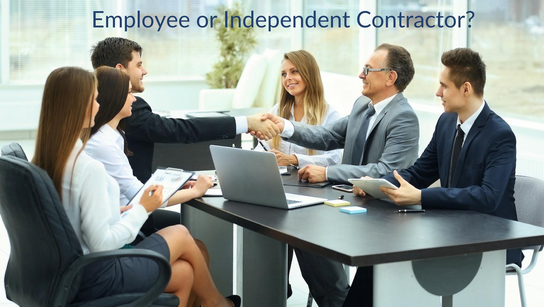 Independent Contractor Designation in California